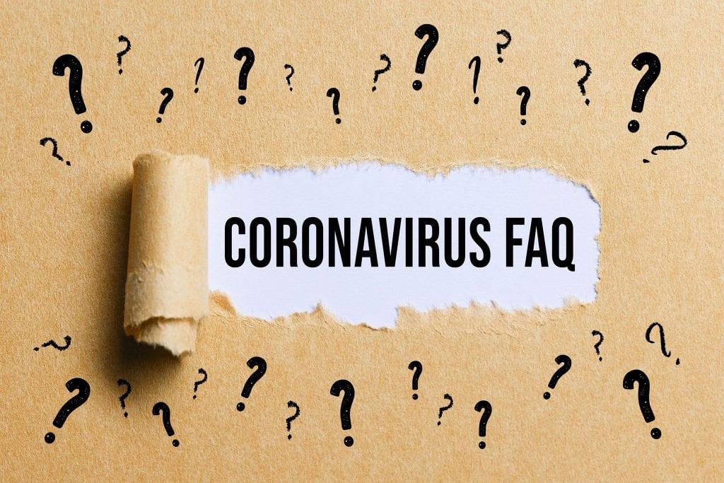 Corona Virus FAQ